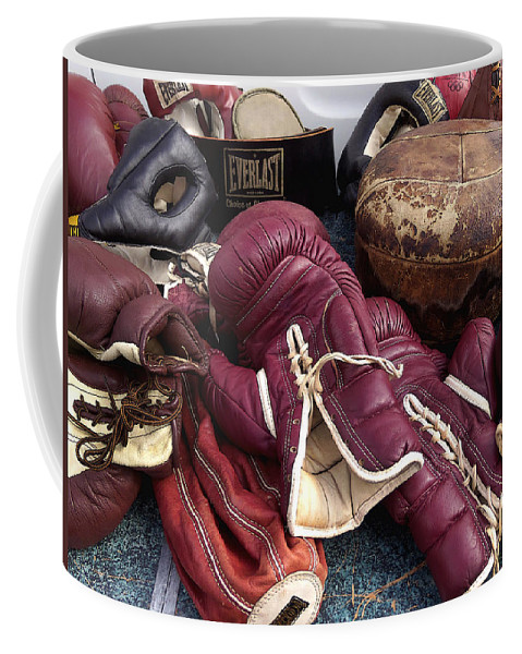 Boxing Coffee Mug featuring the photograph Boxing by Art Block Collections