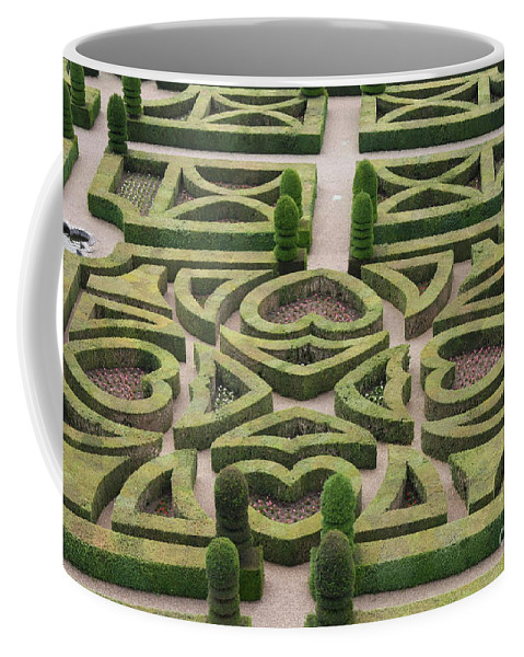 Garden Coffee Mug featuring the photograph Boxwood Garden - Chateau Villandry by Christiane Schulze Art And Photography