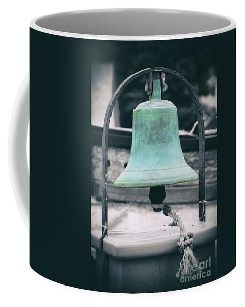 Bell Coffee Mug featuring the photograph Brass Cast by Joe Geraci