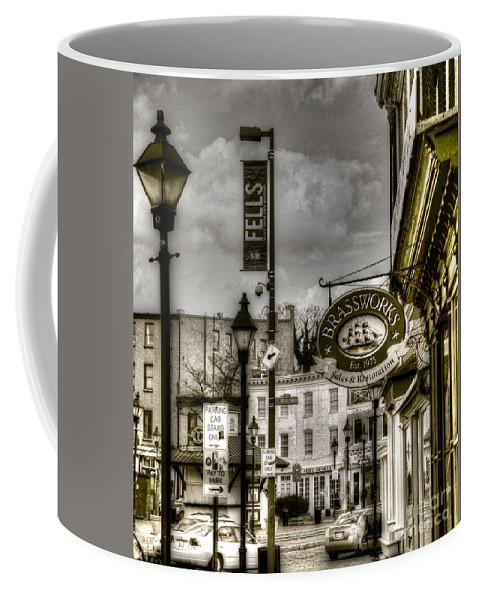 Fells Point Coffee Mug featuring the photograph Brassworks by Debbi Granruth