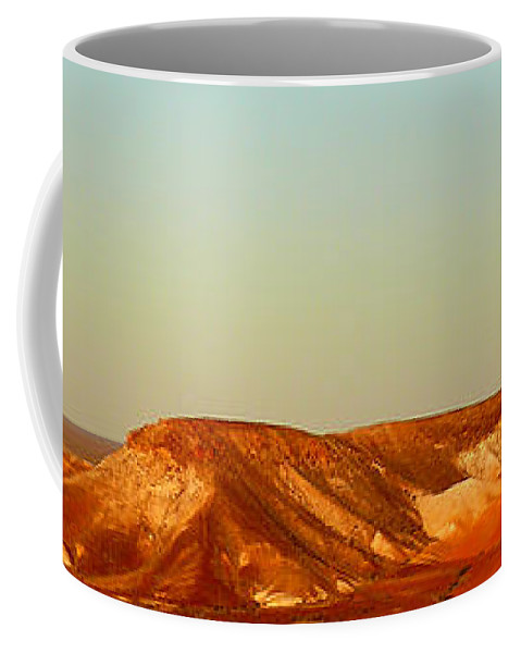 Breakaways Coffee Mug featuring the photograph Breakaways by Evelyn Tambour