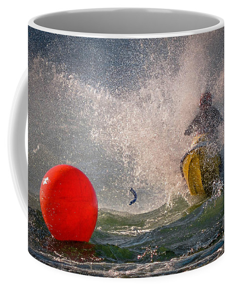 Sport Coffee Mug featuring the photograph Breaking Bad by Joy McAdams