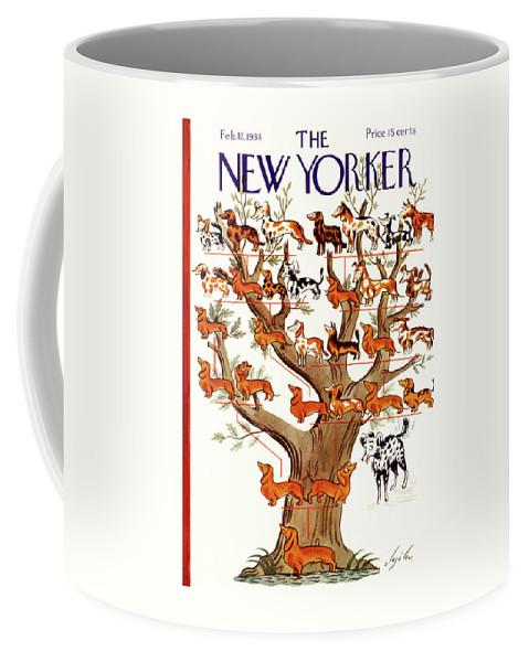New Yorker February 12 1938 Coffee Mug