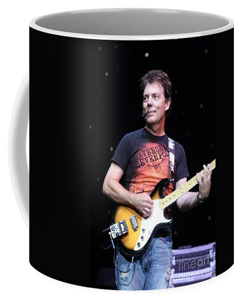 Singer Coffee Mug featuring the photograph Brian Haner by Concert Photos