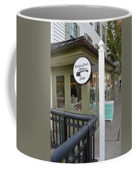 Bridge Street Soap Coffee Mug featuring the photograph Bridge Street Soap by JG Thompson
