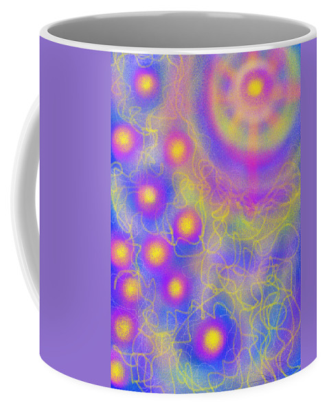 Daina Coffee Mug featuring the painting Brilliance Upon A Star by Daina White