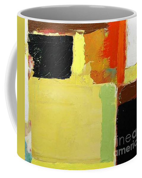 Landscape Coffee Mug featuring the painting Brisbane by Allan P Friedlander