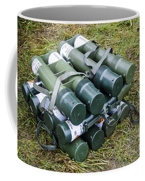 British Army 81mm Mortar Rounds Coffee Mug