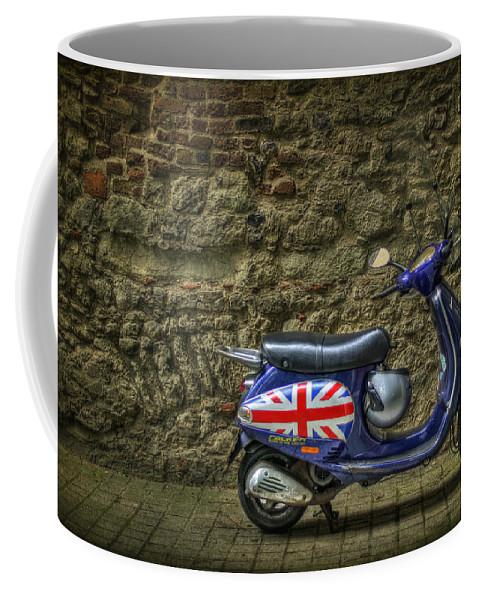 London Coffee Mug featuring the photograph British At Heart by Evelina Kremsdorf