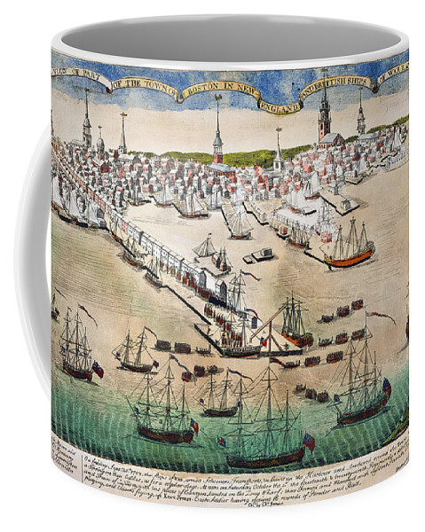 1768 Coffee Mug featuring the photograph British Landing, 1768 by Granger
