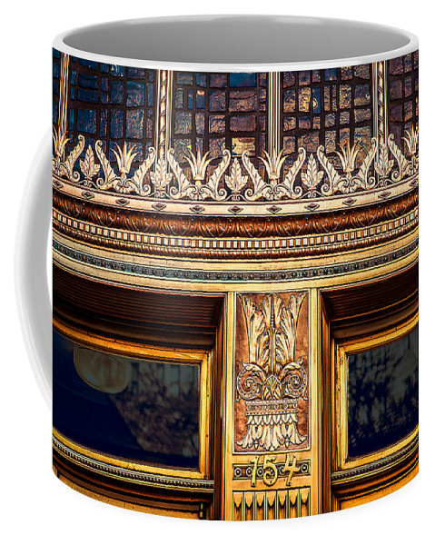 Architecture Coffee Mug featuring the photograph Bronze Crowns by Melinda Ledsome