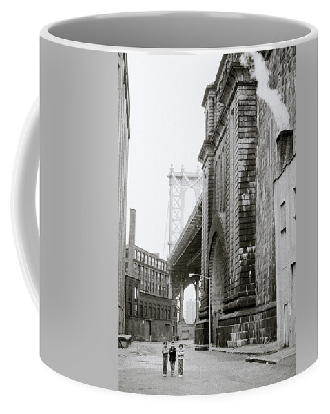 Children Coffee Mug featuring the photograph Brooklyn Children by Shaun Higson