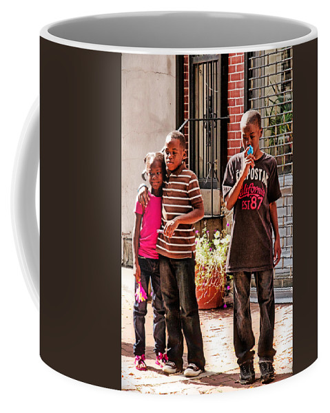 Germantown Coffee Mug featuring the photograph Brother And Sister by Alice Gipson