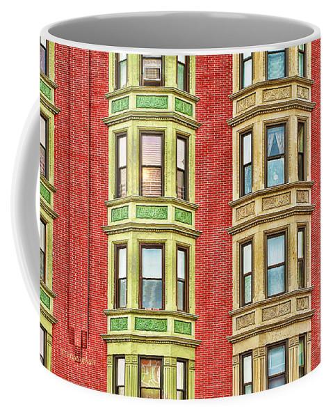 Brownstone Coffee Mug featuring the photograph Brownstone Beauty by Regina Geoghan