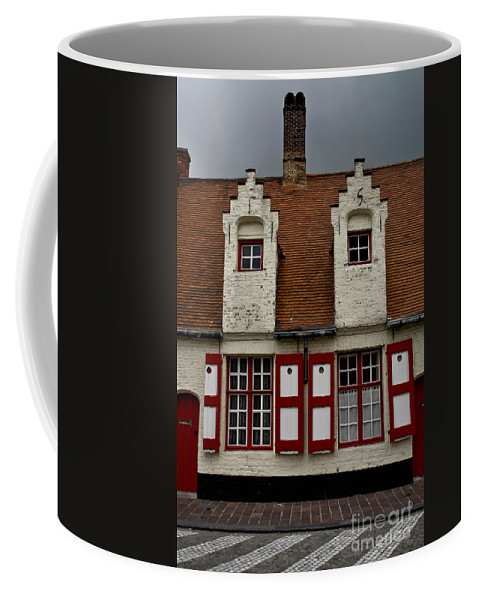 Beguinage House Coffee Mug featuring the photograph Bruges Houses by Brothers Beerens
