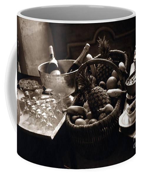 Champagne Coffee Mug featuring the photograph Brunch In The Loire Valley by Madeline Ellis
