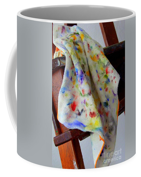 Paintings Coffee Mug featuring the photograph Brush Cleaner by Mary Deal
