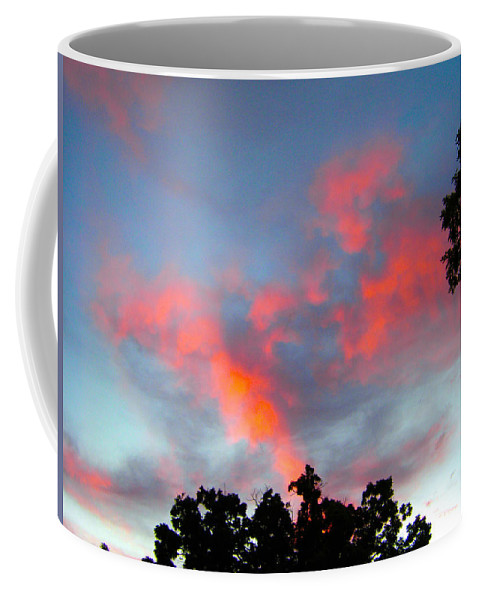 Sky Coffee Mug featuring the photograph Brush Strokes by Zafer Gurel