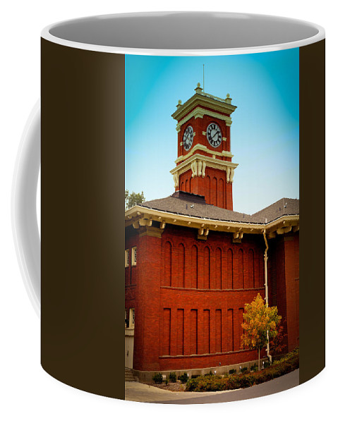 Washington State University Coffee Mug featuring the photograph Bryan Hall At Washington State University by David Patterson