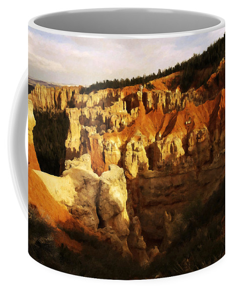 Adventure Coffee Mug featuring the photograph Bryce Canyon 3 by Ingrid Smith-Johnsen