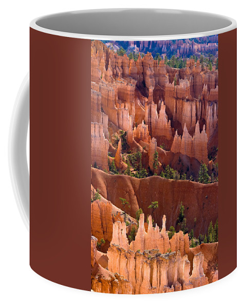 Bryce Canyon Coffee Mug featuring the photograph Bryce Canyon by James BO Insogna