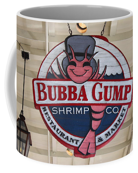 Bubba Gump Coffee Mug featuring the photograph Bubba Gump Shrimp Co. by Bev Conover