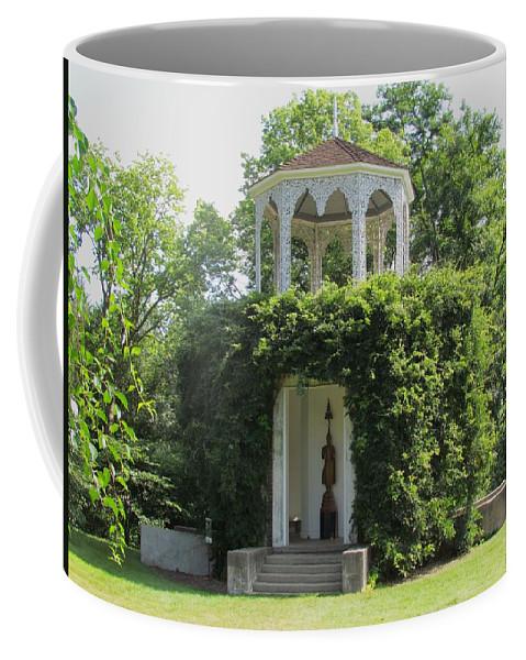 Buddha Pavillion Coffee Mug featuring the photograph Buddha Pavillion by Eric Noa