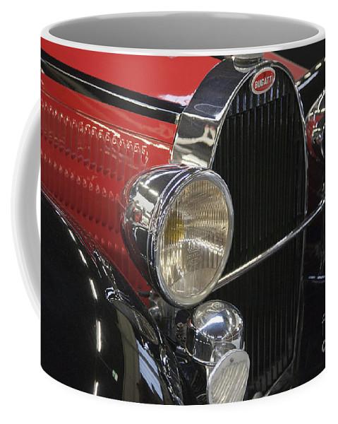 Heiko Coffee Mug featuring the photograph Bugatti Typ 57 Of 1935 Classic Car by Heiko Koehrer-Wagner