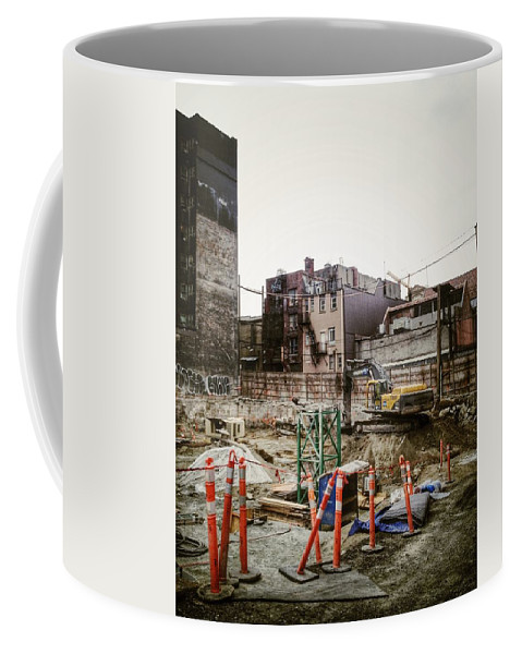 Street Coffee Mug featuring the photograph Building Hastings by The Artist Project