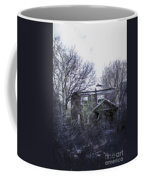 House Coffee Mug featuring the photograph Burned Out by Margie Hurwich