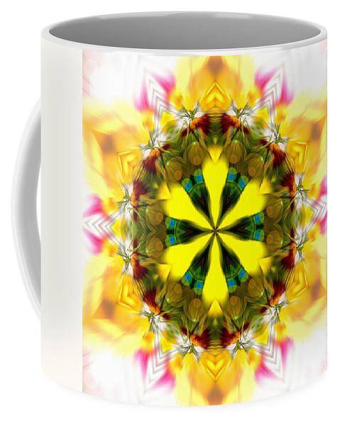 Sacredlife Mandalas Coffee Mug featuring the photograph Burning Empathy by Derek Gedney