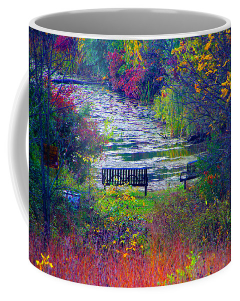 Nature Coffee Mug featuring the photograph Bursting With Color 2 by Debbie Nobile