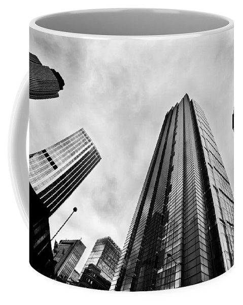 Skyscraper Coffee Mug featuring the photograph Business Architecture Skyscrapers In London Uk by Michal Bednarek