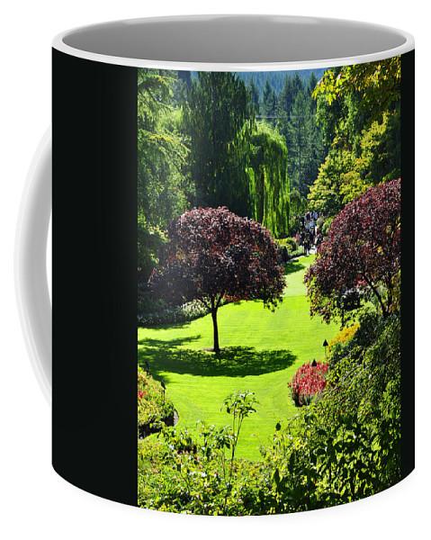 Garden Coffee Mug featuring the photograph Butchart Gardens by Kirt Tisdale