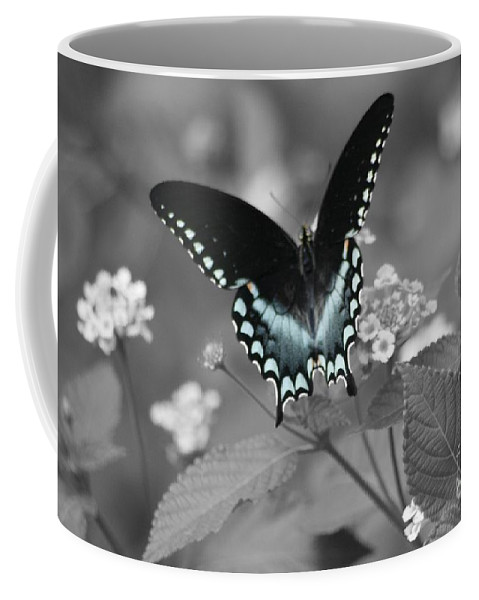 Butterfly Coffee Mug featuring the photograph Butterfly Art by John W Smith III