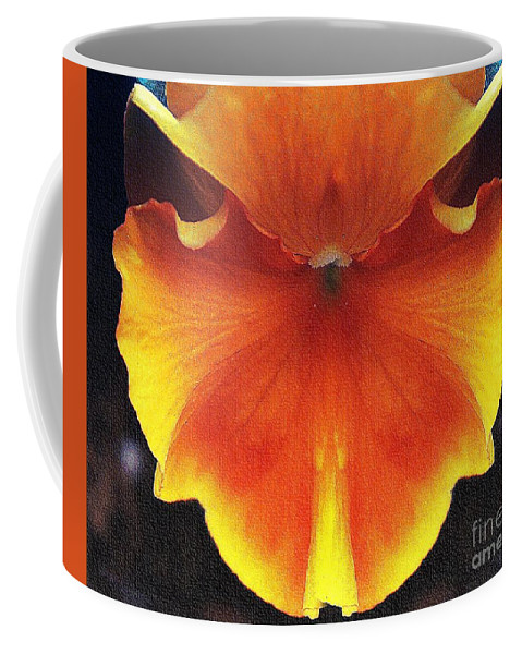 Butterfly Coffee Mug featuring the photograph Butterfly Impression by Lilliana Mendez
