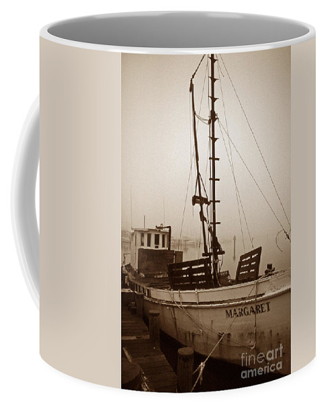 Maritime Coffee Mug featuring the photograph Buy Boat Margaret by Skip Willits
