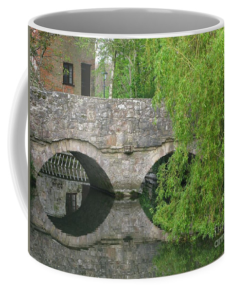 England Coffee Mug featuring the photograph By The Old Mill Stream by Ann Horn