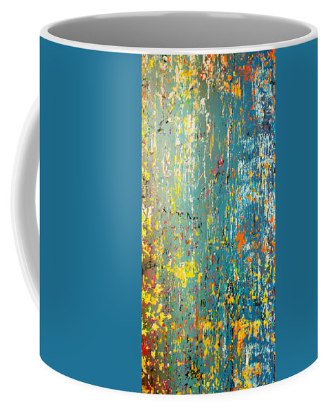 Derek Kaplan Art Coffee Mug featuring the painting By Your Side by Derek Kaplan