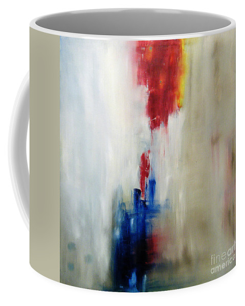 Abstract Painting Coffee Mug featuring the painting C-15 by Jeff Barrett