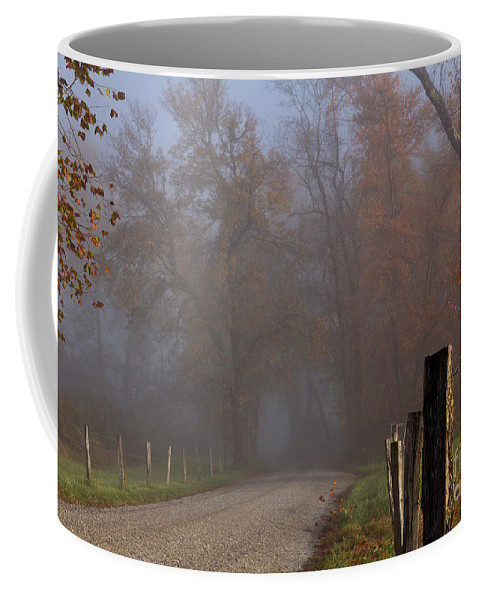 Coffee Mug featuring the photograph Cades Cove Color II by Douglas Stucky