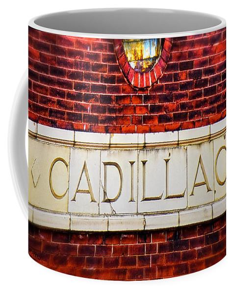 Usa Coffee Mug featuring the photograph Cadillac by LeeAnn McLaneGoetz McLaneGoetzStudioLLCcom