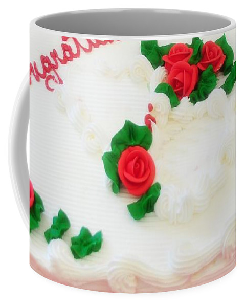 Cake Coffee Mug featuring the photograph Cake by Kathleen Struckle