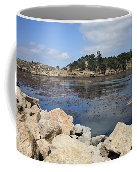California Coffee Mug featuring the photograph California Cove by Carol Groenen