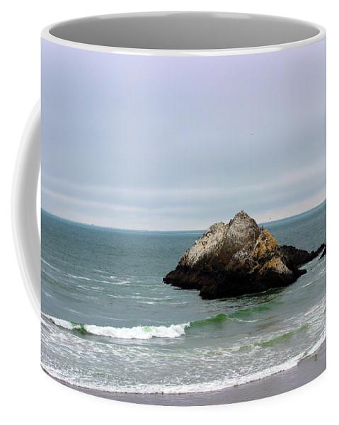 California Coffee Mug featuring the photograph California Ocean Beach by Becca Buecher