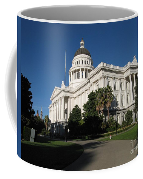 California Coffee Mug featuring the photograph California State Capitol by James B Toy