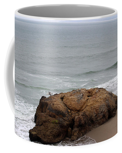 California Coffee Mug featuring the photograph California Rock by Becca Buecher