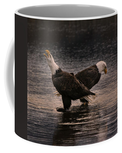 Eagles Coffee Mug featuring the photograph Call Of The Wild by Scott Wickward