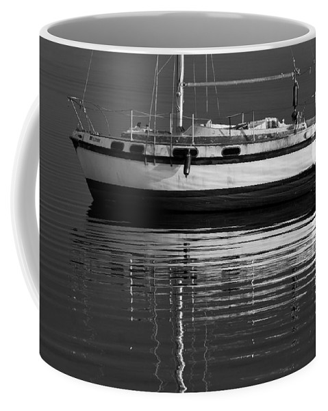 Sailboat Coffee Mug featuring the photograph Calm Waters by Stefan Mazzola