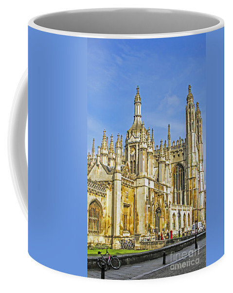 Travel Coffee Mug featuring the photograph Cambridge's King College by Elvis Vaughn